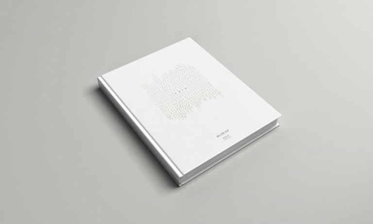 Mockup de la portada de un libro